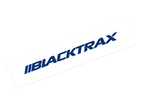 BlackTrax Vinyl Sticker - Blue